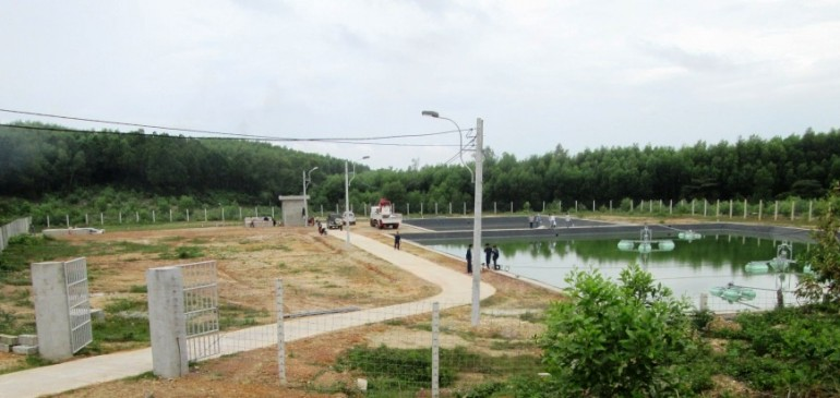 Vietnamese Leachate Treatment Plant
