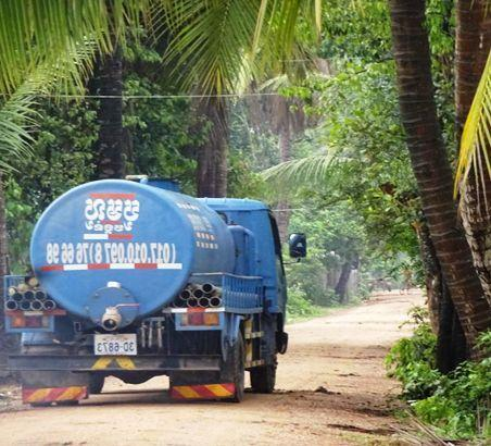 FS vacuum truck in Cambodia